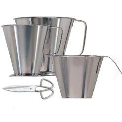 Productos de acero inoxidable para alimentación